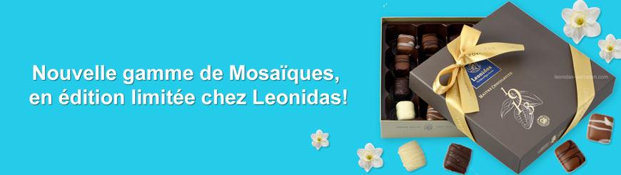 Leonidas - Nouvelle gamme de Mosaïques - Leonidas Warneton (Belgique)