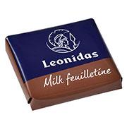 Leonidas - Napolitain en chocolat au lait Feuilletine - LEonidas Warneton (B)