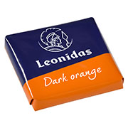 Leonidas - Napolitain en chocolat noir orange - Leonidas Warneton (B)