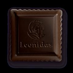 Leonidas - Paliné Noir - Carré croquant - Leonidas Warneton (Belgique)