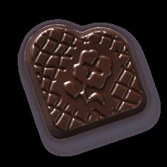 Leonidas - Chocolat Noir - Praliné avec éclats de Nibs - Leonidas Warneton (Belgique)